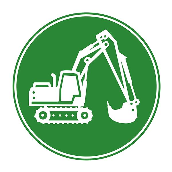 Icon-Baumaschinen