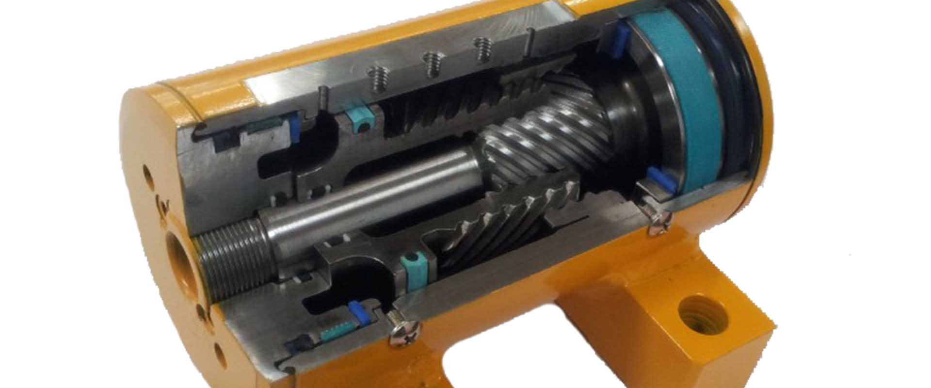 Hydraulischer-Schwenkantrieb