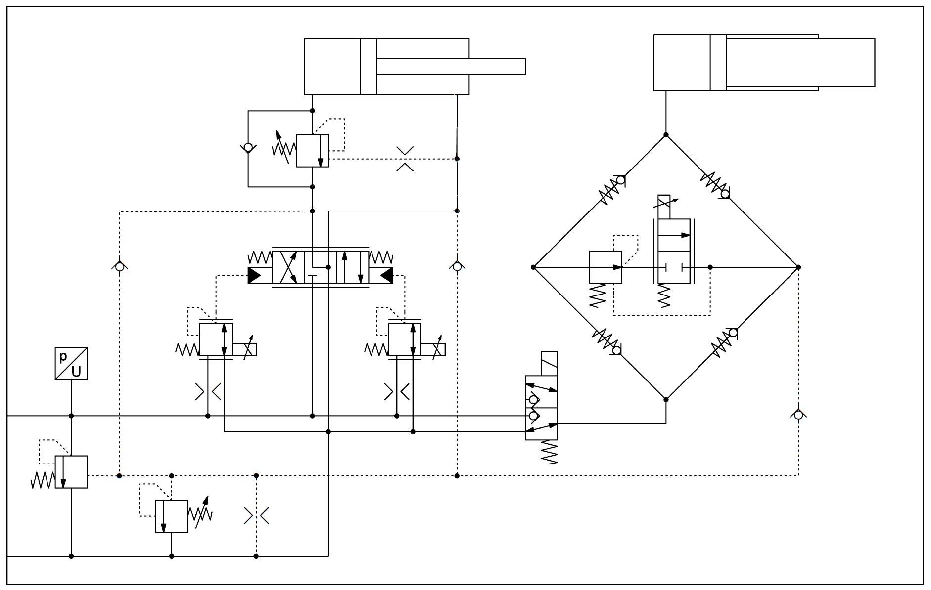 Hydraulischer-Schaltplan